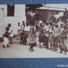 Postales: GUINEA CONTINENTAL UN PEQUEÑO BALELE. Lote 288919418