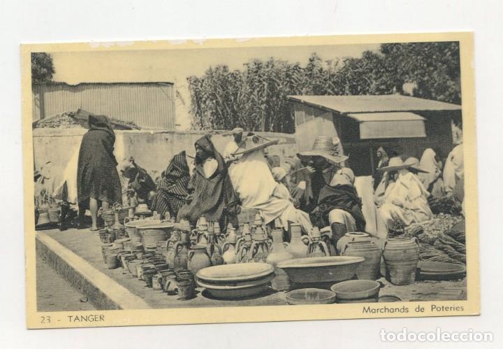 POSTAL DE TANGER (MARRUECOS) EDIT. LEBRUN FRÈRES (CIRCULADA 1947) (Postales - Postales Temáticas - Ex Colonias y Protectorado Español)