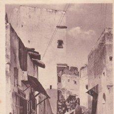 Postales: MARRUECOS, TANGER UNE RUE DANS LA MÉDINA. ED. LÉVY & NEURDÉIN Nº 67. Lote 289626193