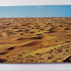 Postales: POSTAL - SAHARA - CONJUNTO DE DUNAS - COLLECCION LAS AFORTUNADAS. Lote 293861458