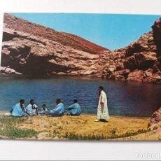 Postales: POSTAL - SAHARA - CHARCA DEL DESIERTO - COLLECCION LAS AFORTUNADAS. Lote 293861928