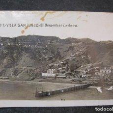 Postales: VILLA SANJURJO-EL DESEMBARCADERO-FOTOGRAFICA-POSTAL ANTIGUA-(85.173). Lote 295523813