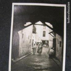 Postales: TETUAN-TIPICA CALLE-FOTOGRAFICA GARCIA-POSTAL ANTIGUA-(85.191). Lote 295527788