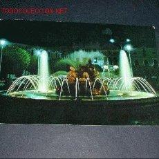 Postales: POSTAL DON BENITO.FUENTE MONUMENTAL DE NOCHE. Lote 364356