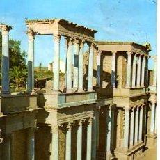 Postales: POSTAL DE MERIDA-TEATRO ROMANO. Lote 4136897