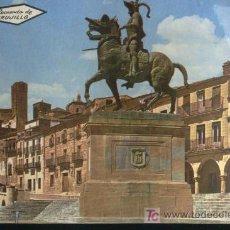 Postales: PLAZA MAYOR Y PIZARRO, TRUJILLO, CACERES, 1980. Lote 5145047