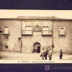 Postales: POSTAL DE CACERES: PALACIO DEL CONDE TORRE MAYORALGO (ROISIN NUM.14) (ANIMADA). Lote 5246097