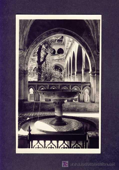 POSTAL DE GUADALUPE (CACERES): FUENTE-LAVATORIO DE JUAN FRANCÉS (ED.GARCIA GARRABELLA NUM.17) (Postales - España - Extremadura Antigua (hasta 1939))