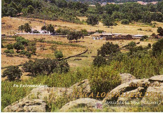 Postal casa rural finca los valvellidos jaraiz comprar for Casa rural jaraiz de la vera