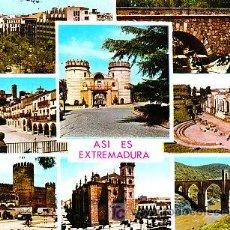 Postales: POSTAL DE EXTREMADURA Nº2905, VISTAS VARIAS. Lote 7417089