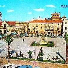 Postales: POSTAL DE MERIDA Nº2032, PLAZA DE ESPAÑA. Lote 7417103