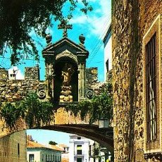 Postales: POSTAL DE CACERES Nº3, ARCO DE LA ESTRELLA. Lote 7417139