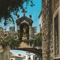 Postales: POSTAL DE CACERES Nº3, ARCO DE LA ESTRELLA. Lote 7505118