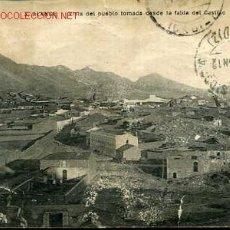 Postales: TARJETA POSTAL DE ALANGE Nº 3(BADAJOZ)-VISTA DEL PUEBLO TOMADA DESDE LA FALDA DEL CASTILLO. Lote 11407745