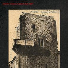 Postales: POSTAL DE CACERES: TORRE DE LOS CACERES (ED.M.CILLEROS). Lote 1846426