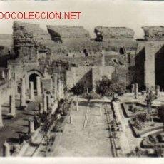 Postales: TARJETA POSTAL ANTIGUA DE MERIDA Nº88 - PERISTILO DEL TEATRO ROMANO. Lote 5518329