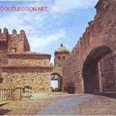 Postales: CÁCERES ARCO DE LA ESTRELLA Y TORRE DE BUJACO . Lote 2031678