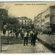 Postales: CACERES , PLAZA DE LA CONSTITUCION , P26680. Lote 25439427