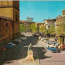 Postales: POSTAL A COLOR 2007 BADAJOZ PLAZA DE ESPAÑA CON COCHES EPOCA ED ARRIBAS. Lote 10710906