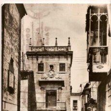 Postales: ANTIGUA POSTAL 1026 PLASENCIA CASA DE LOS ALMARACES Y GRIJALDOS ED ARRIBAS CIRCULADA 1964. Lote 11053216