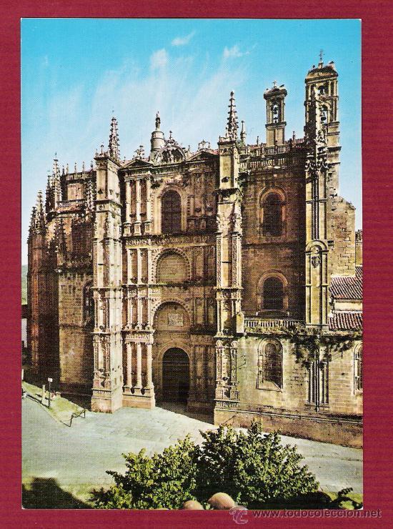 MAGNIFÍCA POSTAL DE CATEDRALES DE ESPAÑA - CATEDRAL DE PLASENCIA - CÁCERES - NÚMERO 10 (Postales - España - Extremadura Moderna (desde 1940))