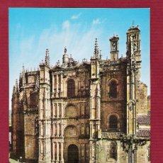 Postales: MAGNIFÍCA POSTAL DE CATEDRALES DE ESPAÑA - CATEDRAL DE PLASENCIA - CÁCERES - NÚMERO 10. Lote 11735174