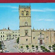 Postales: MAGNIFÍCA POSTAL DE CATEDRALES DE ESPAÑA - CATEDRAL DE BADAJOZ - NÚMERO 43. Lote 11735957
