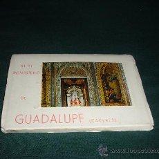 Postales: BLOC 10 POSTALES REAL MONASTERIO DE GUADALUPE-LUCAS JORDAN,GARCIA GARRABELLA. Lote 11775552