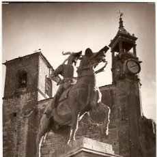 Postales: POSTAL TRUJILLO ESTATUA DE FRANCISCO PIZARRO. Lote 11972960