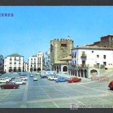 Postales: CACERES. *PLAZA GENERAL MOLA* EDC. PARIS - J.M. Nº 424. NUEVA. Lote 12295899