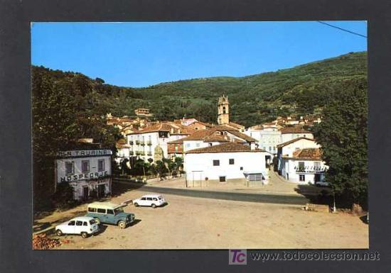 BAÑOS DE MONTEMAYOR. *CARRETERA NACIONAL 630 CON VISTA PARCIAL* EDC. S. BARRUECO Nº 5. ESCRITA (Postales - España - Extremadura Moderna (desde 1940))