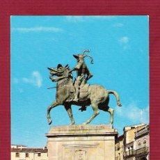 Postales: MAGNÍFICA POSTAL - TRUJILLO ( CÁCERES ) - ESTATUA DE FRANCISCO PIZARRO. Lote 12448451