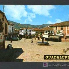 Postales: GUADALUPE. *PLAZA DEL GENERALISIMO* EDC. G. GARRABELLA - ZARAGOZA Nº 24. NUEVA. Lote 12461584