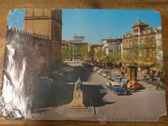 POSTAL DE BADAJOZ, CIRCULADA (Postales - España - Extremadura Moderna (desde 1940))