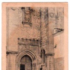 Postales: TARJETA POSTAL DE CACERES. PUERTA DE SANTIAGO. EDICION EULOGIO BLASCO.HELIOTIPIA KALLMEYER Y GAUTIER. Lote 16392361