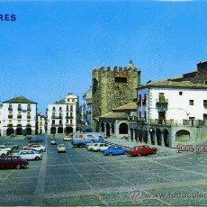 Postales: POSTAL DE CACERES Nº424 PLAZA GENERAL MOLA. Lote 13733460