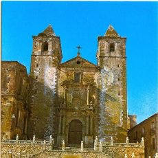Cartes Postales: CACERES - PLAZA DE SAN JORGE. IGLESIA DE SAN FRANCISCO JAVIER (1968). Lote 50644830