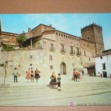 Postales: PLASENCIA CACERES PALACIO DEL MARQUES DE MIRABEL1965. Lote 24602428
