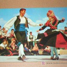 Postales: CACERES BAILE DE EL CANDIL CANCIONES Y DANZAS DE ESPAÑA SECCION FEMENINA 1963. Lote 25680160
