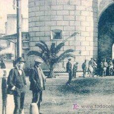 Postales: ANTIGUA POSTAL, BADAJOZ, PUERTA PALMAS. Lote 14400974