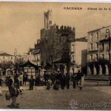 Postales: CÁCERES.-PLAZA DE LA CONSTITUCIÓN. Lote 15161145