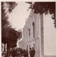 Postales: BAÑOS DE MONTEMAYOR(CÁCERES).-PERFIL DE LAS FACHADAS DEL BALNEARIO. Lote 15162484