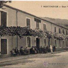 Postales: BAÑOS DE MONTEMAYOR(CÁCERES).-GRAN HOTEL ELOY. Lote 15162644
