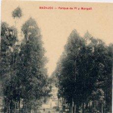 Postales: BADAJOZ.-PARQUE DE PÍ Y MARGALL. Lote 15165617