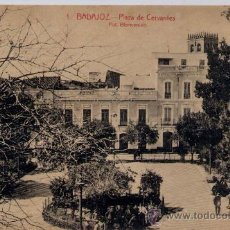 Postales: BADAJOZ.-PLAZA DE CERVANTES. Lote 15165711