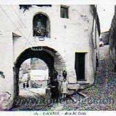 Postales: POSTAL CACERES ARCO DEL CRISTO . Lote 15497397