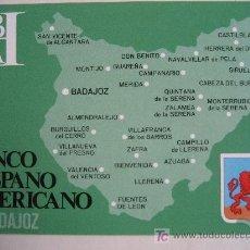 Postales: BADAJOZ. BANCO HISPANO AMERICANO. Lote 23626794