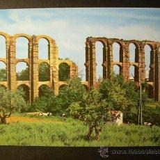 Postales: 637 ESPAÑA EXTREMADURA BADAJOZ MERIDA ACUEDUCTO ROMANO AÑOS 60/70 - MIRA MIS OTROS ARTÍCULOS. Lote 16057785
