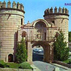 Postales: POSTAL BADAJOZ PUERTA PALMA. Lote 36117435