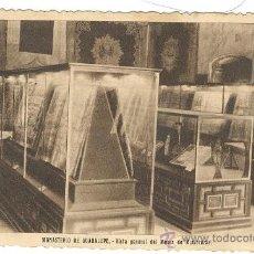 Postales: GUADALUPE MONASTERIO MUSEO DE MINIATURAS. Lote 27454217